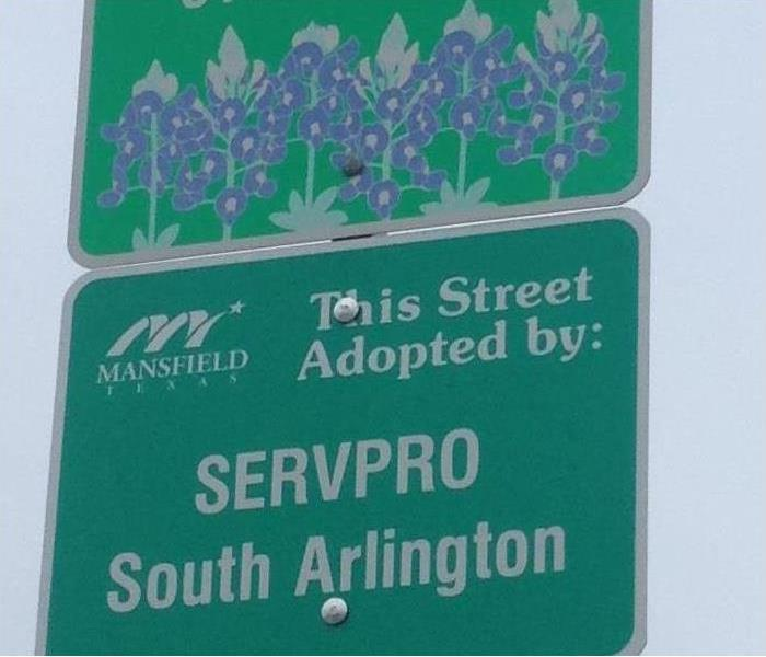 SERVPRO of South Arlington is committed to maintaining the beauty & cleanliness of our Texas cities!